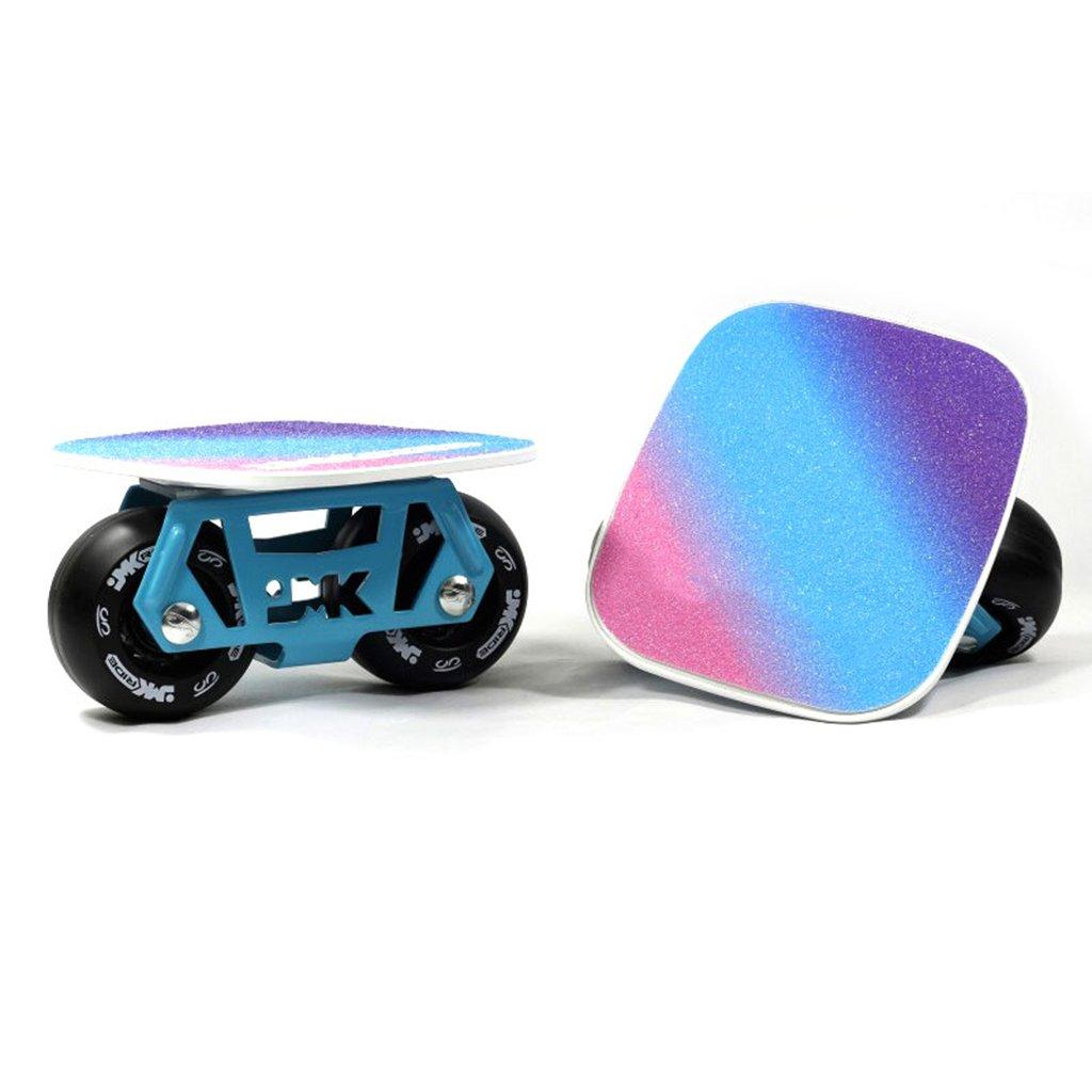 【正規品質保証】 ドリフトフリーラインスケートDIYアダルト子供4輪スケートボードスクーターロードスクラブ B07FLTMX93 Black Black Black, ベストアイテム!:792366a2 --- a0267596.xsph.ru