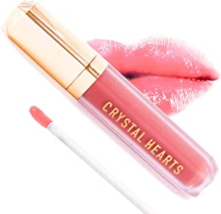 product image for CrystalHearts Matte Liquid Lipstick - Long-Lasting and Non Transfer Kiss Proof Makeup Lip Gloss- Cruelty & Paraben Free Hydrating Lip - Made in USA (Beverly)
