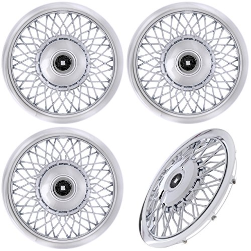 Hubcaps Classic Car - CoverTrend Set of (4) Piece 15