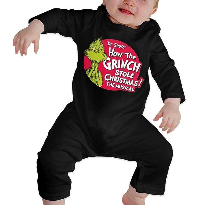 c881cd800833 Amazon.com  yimo Grinch Stole Christmas Newborn Baby 6-24 Months ...