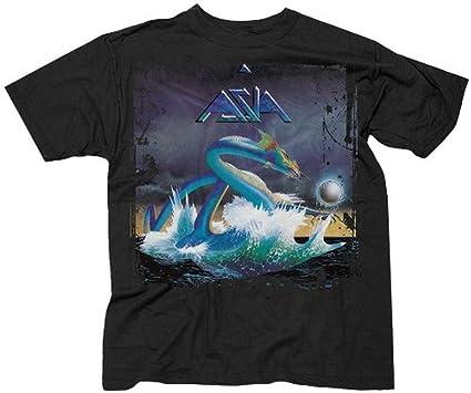 Amazon.com  Asia Rock Band Album Cover T-shirt (Large)  Clothing badb55029