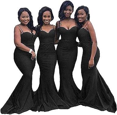 Inmagicdress Mermaid Long Bridesmaid Dresses For Weddings Navy Blue Dress 124 At Amazon Women S Clothing Store