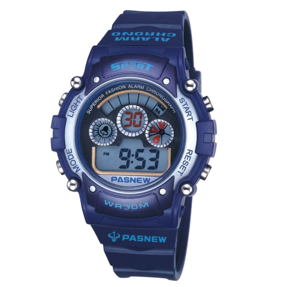 Electronic watch outdoor sports student running children waterproof-A