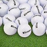 12-Pack Kevenz 2017 Outdoor Sport Supersoft Golf Practice Balls (White)