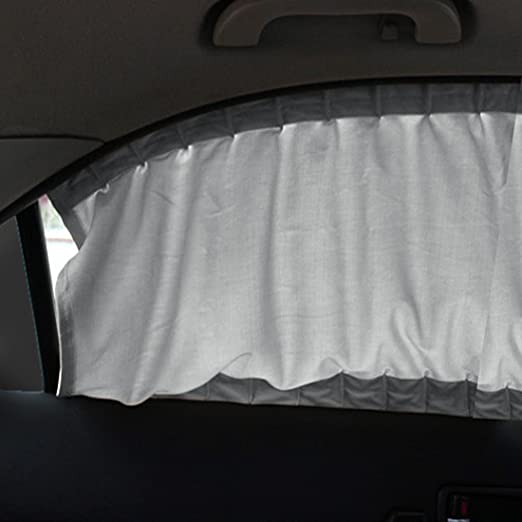 2 Pack Uxcell a17052000ux0101 Car Window Curtain