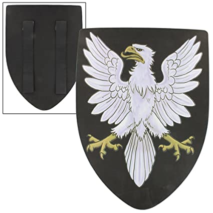 af3335c03103 Amazon.com: Eminent Noble Eagle Medieval Foam Shield by Armory Replicas:  Toys & Games