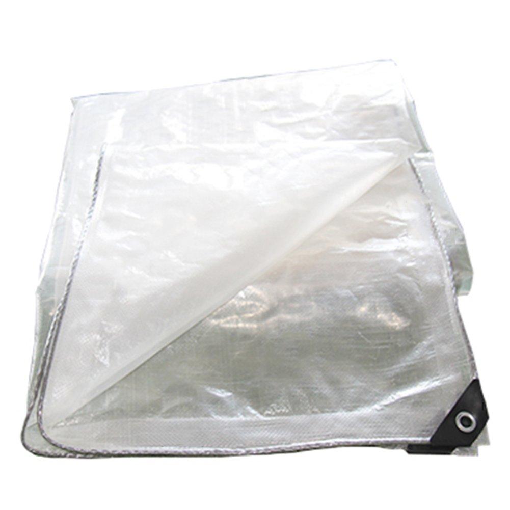 Zelte Outdoor Abdeckung Film Papierregensichere Tuch-Plane Fleischige Tuch-Plastikplane Sonnenschutz-Abdeckung Transparente Tuch-Plastikplane Fleischige 821005