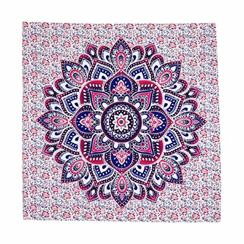 Lookatool Handicrunch Hippie Tribal Tapestry Wall hanging Dorms Tapestries Beach (145*145cm, B) (Tribal Print Tattoos)