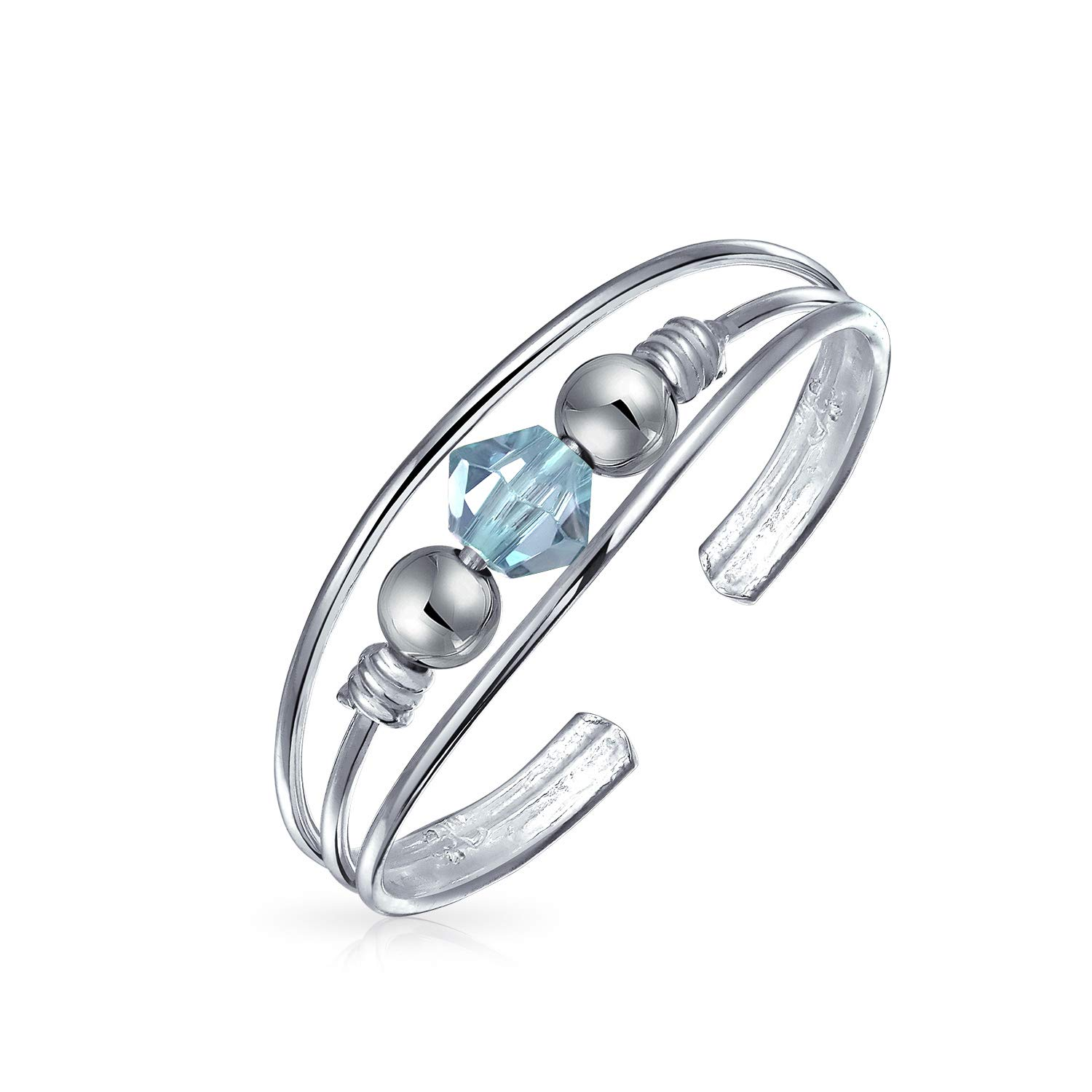Wedding Bands Jewelry & Accessories High Quality Fashion 925 Sterling Silver Sure Colourful Rhinestone Adjustable Size Ring For Women