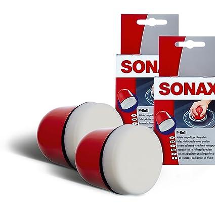 SONAX 2 x 04173410 P Pelota de pulir abrillantador Pelota de ...