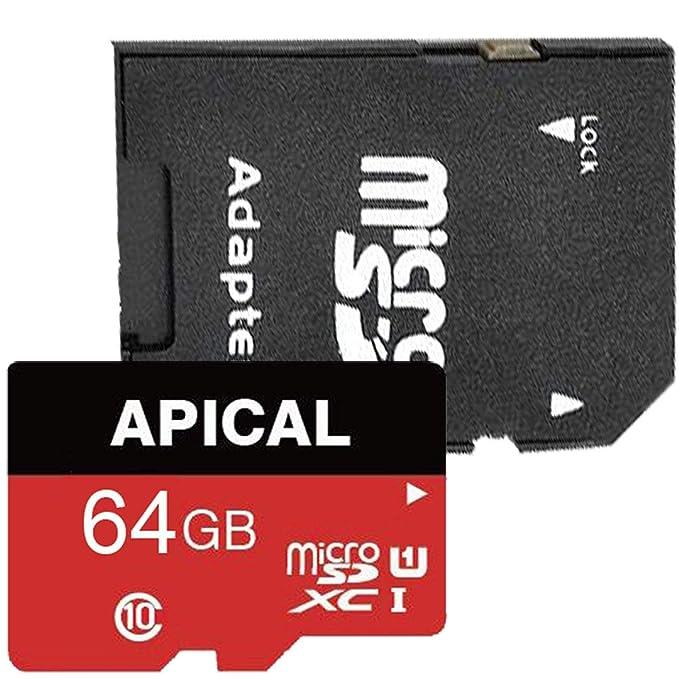 Amazon.com: APICAL Micro SD 8 16 32 64 128 256 GB Clase 10 ...
