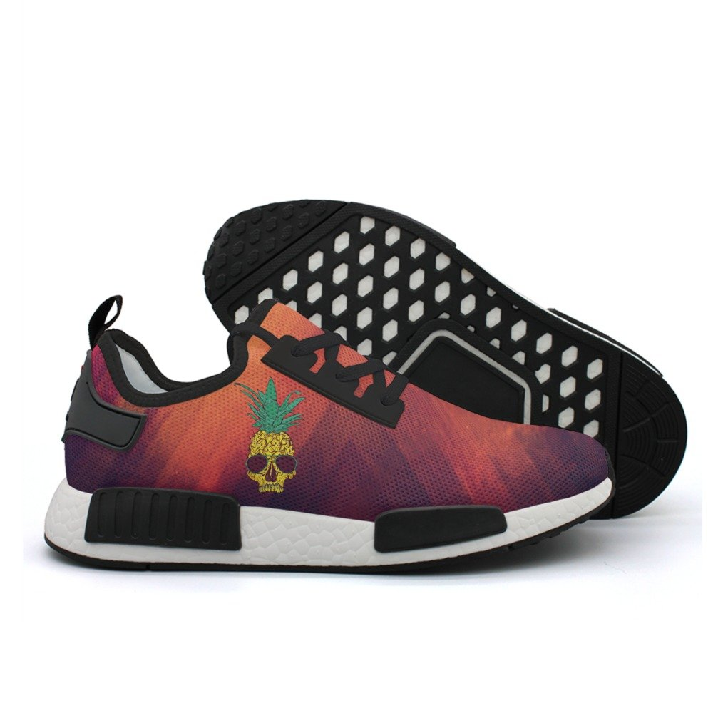 SKULL-cool Pineapple Skull With Sunglass Casual Sport Shoes Men