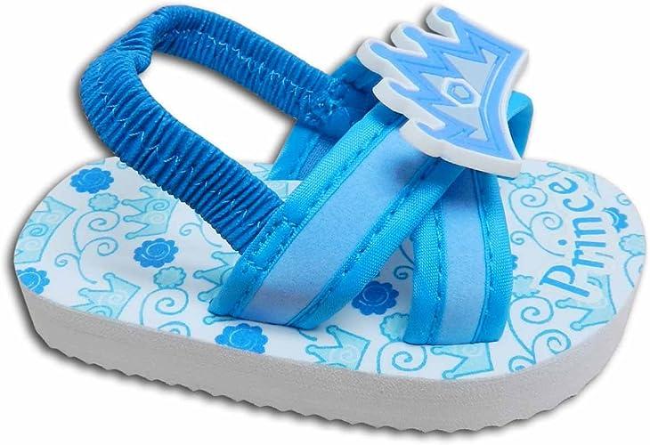 Baby Boys Flip Flop Sandals Blue Size 3