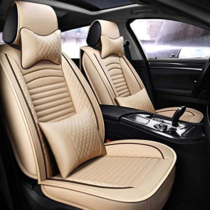 Tremendous Amazon Com Bmdha Car Seat Covers Pu Leather 3D Fully Andrewgaddart Wooden Chair Designs For Living Room Andrewgaddartcom