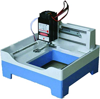 1000mW máquina De grabado láser DIY Omnipotente Plotter-Mini-Máquina De herramientas para grabado, diseño De sello máquina De cortar: Amazon.es: Bricolaje y herramientas