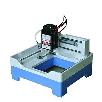 DIY Laser Engraving Machine Bricolaje Máquina de Grabado Láser 1000mW Plotter de Corte Mini Máquina de Grabado Pequeño Sello Maquina de Cortar: Amazon.es: Industria, empresas y ciencia