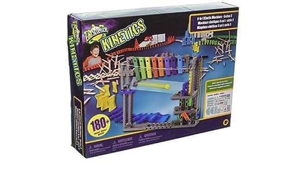 Edu Science Kinetics - Kit de máquinas cinéticas Musicales 8 en 1 ...