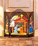 The Lakeside Collection Nativity Fireplace Screens from The Lakeside Collection