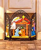 Cheap The Lakeside Collection Nativity Fireplace Screens