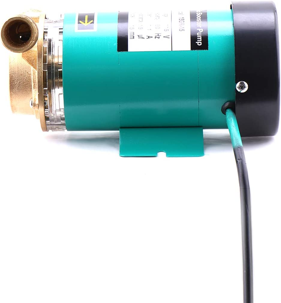 ZHKUO/90W Water Pressure Booster Pump 3//4 inch Outlet Automatic Shower Booster Pump with Water Flow Switch for Home//Shower