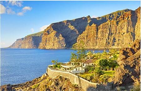 Rompecabezas Rompecabezas 1000 Piezas Puzzles Acantilado Los Gigantes Islas Canarias Tenerife España Puzzle Diy Art: Amazon.es: Hogar