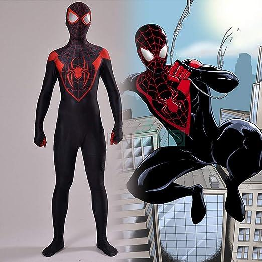 KYOKIM Último Traje Negro De Spiderman Disfraces De Halloween ...