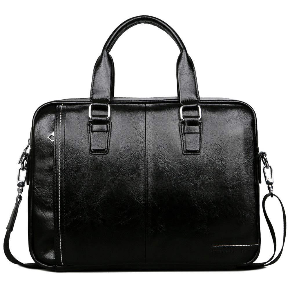 XIAOPING Laptop Bag Duffel Bag Business Messenger Bag Leather Handbag