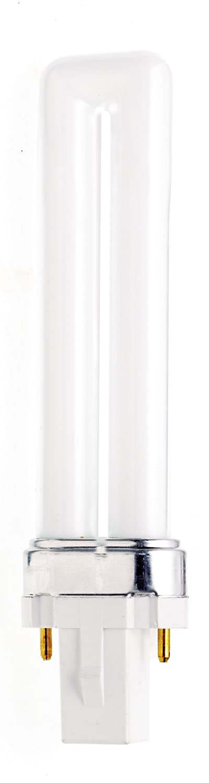 Satco S8309 5000K 9-Watt G23 Base T4 Twin 2-Pin Tube for Magnetic Ballasts