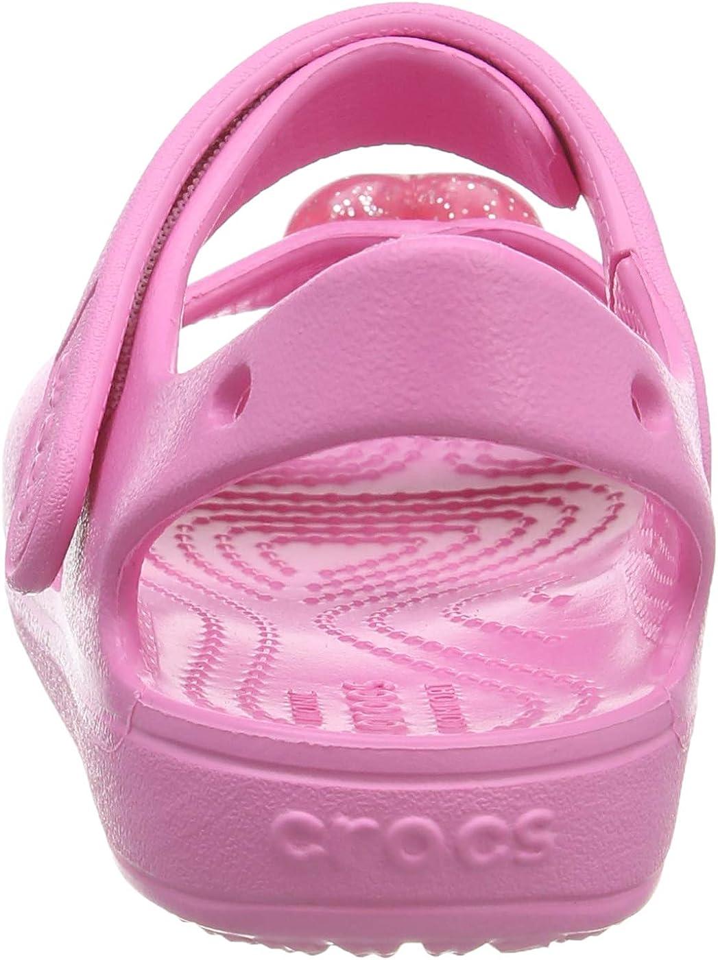 Crocs Classic Cross Strap Kids Sandali con Cinturino alla Caviglia Unisex Bambini