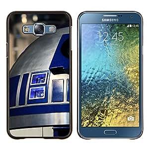 TECHCASE---Cubierta de la caja de protección para la piel dura ** Samsung Galaxy E7 E700 ** --R2D2