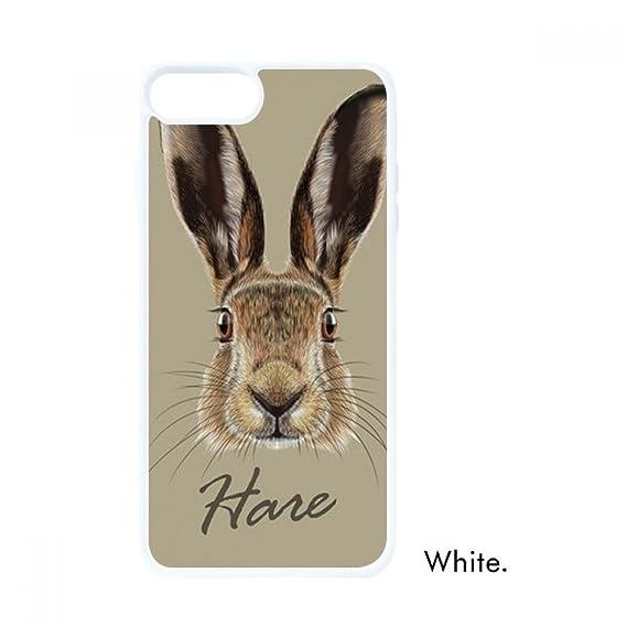 Amazon.com  Grey Big-nosed Wild Hare Animal For iPhone 7/8 ...
