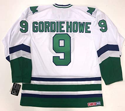 5a0a6a01cfe Gordie Howe Hartford Whalers Ccm Team Classic White Jersey Large at ...