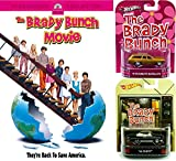 The Brady Bunch Movie DVD with Hot Wheels 1956 Chevy & 1971 Plymouth Satellite 1:64 Die-Case Retro Entertainment Car Bundle