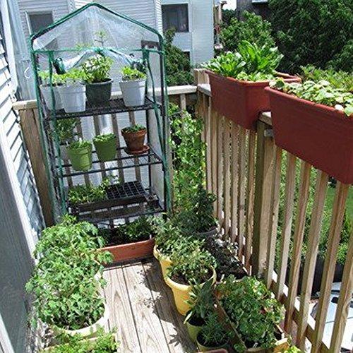 Attractive ... 4 Tier Mini Greenhouse Portable Deck Patio Greenhouse