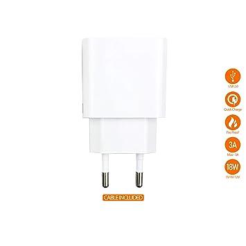 OEM Mi Cargador Original MDY-10-EF Quick Charge 3.0 (18W/5V ...