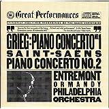 Grieg : Piano Concerto No. 1/Saint-Saens: Piano Concerto No 2 (CBS Great Performances)