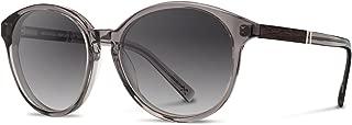 product image for Shwood - Bailey Acetate, Sustainability Meets Style, Smoke/Ebony, Grey Fade Polarized Lenses