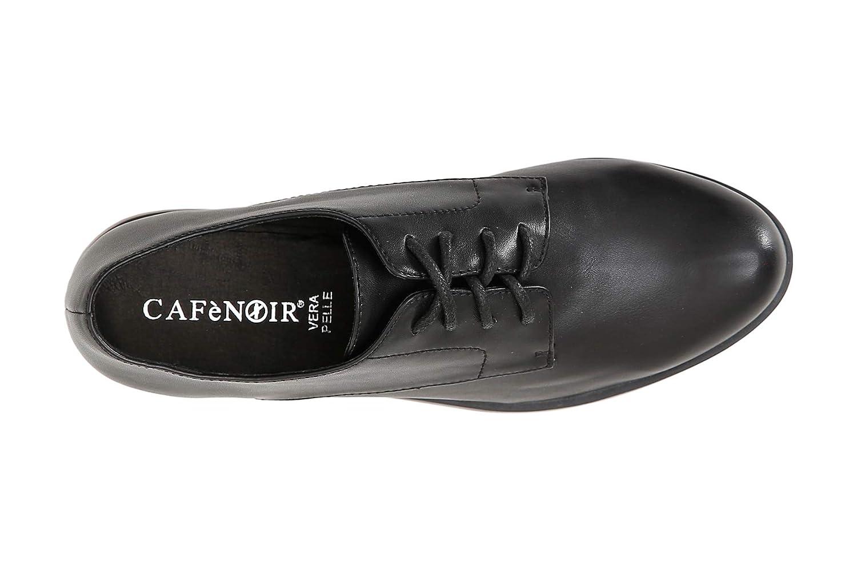Cafegrave;Noir 36 Derby Stringata Donna EB936 Nero 36 Cafegrave;Noir EU) - 74a706