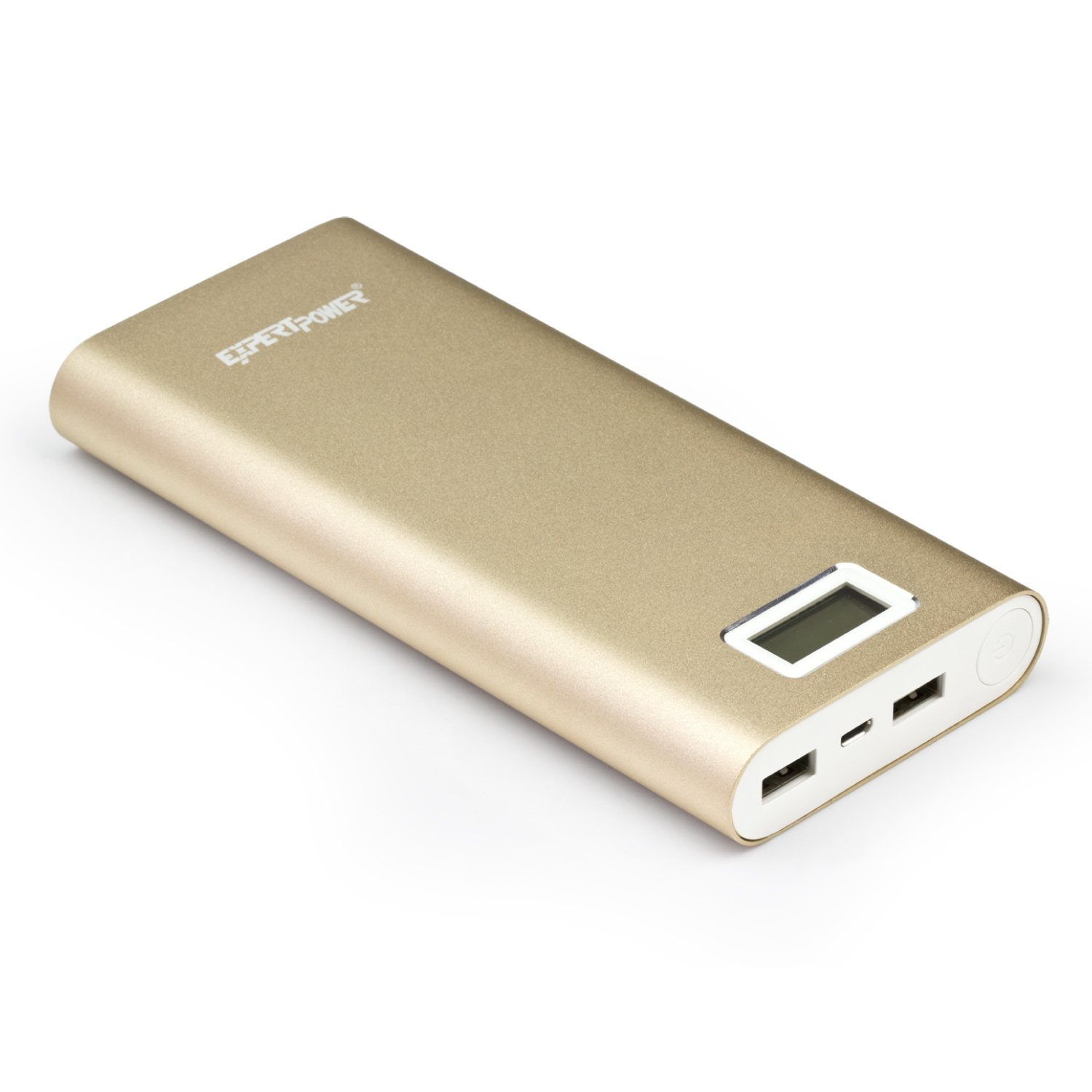 ExpertPower 20000mAh Ultra High Capacity External Battery Power Bank for Smartphone & Tablets