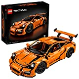 2704 Pieces, Gearbox, Working Steering Wheel Porsche Building Toy, 6'H x 22'L x 9'W