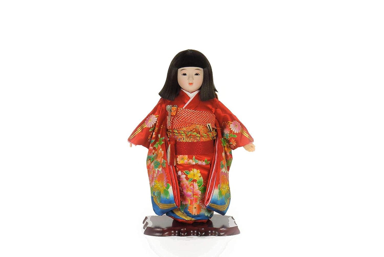 市松人形 13号わらべ人形日本人形 1-26   B07L99C8F1