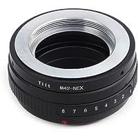 Pixco Przejściowy adapter obiektywu pasuje do obiektywu M42 do kamery Sony E Mount NEX