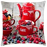 Absolutly fresh fruits... - Throw Pillow Cover Case (18