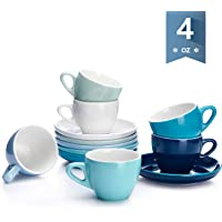 6-Set Sweese 402.003 Espresso Cups with Saucers