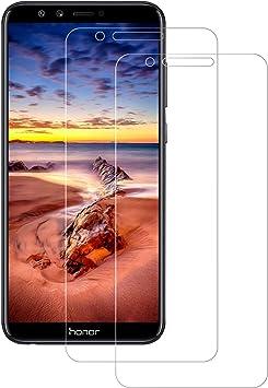 POOPHUNS 2-Unidades Cristal Templado Huawei Honor 9 Lite ...