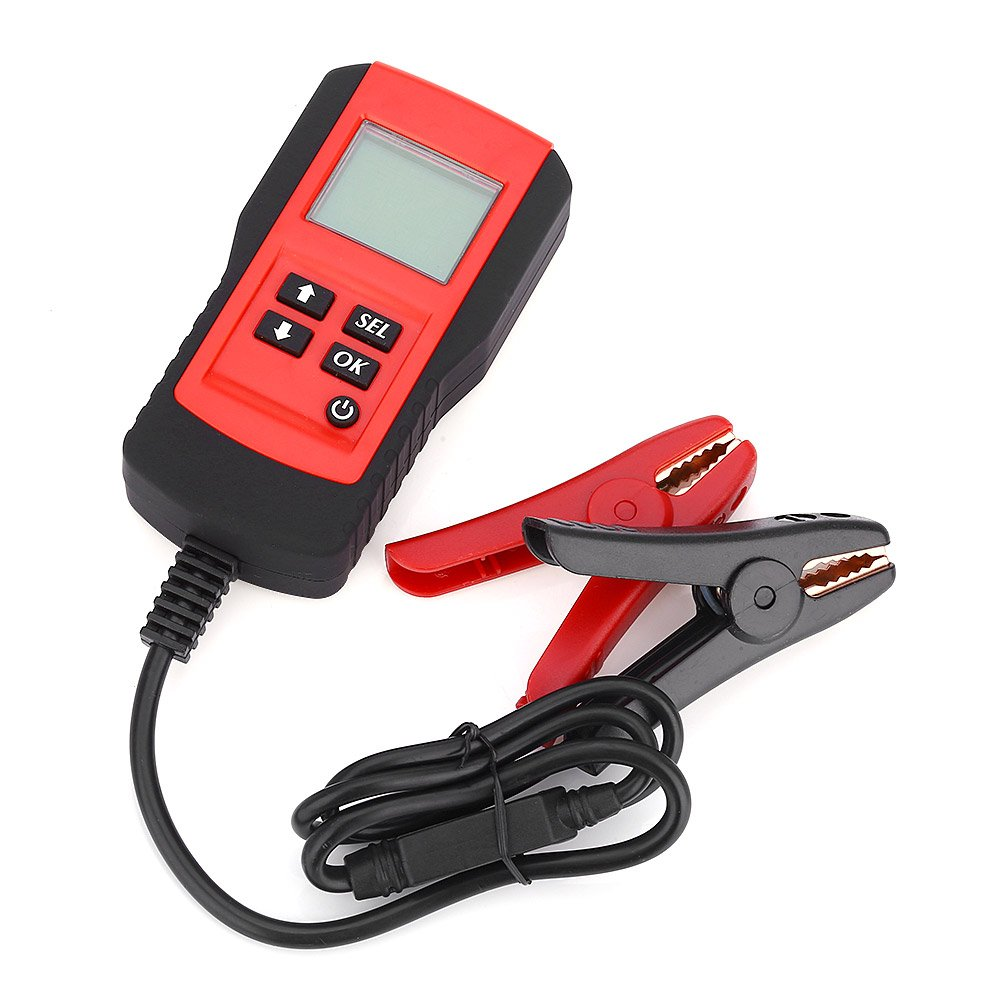 OLSUS Car Digital Battery Test Analyzer - YELLOW AND RED by OLSUS (Image #1)