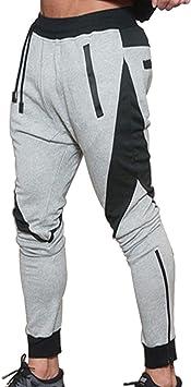Naudamp Pantalón de chándal para Hombre Pantalones ...