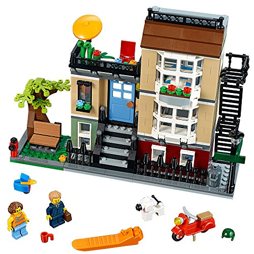 LEGO Creator Park Street Townhouse 31065 Building Toy (Lego Creator 3 In 1 Seaside House 7346)