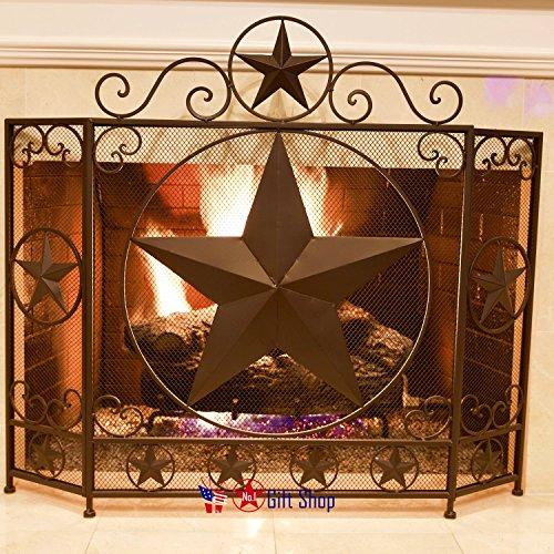 BestGiftEver Star Metal Fireplace Screen by BestGiftEver