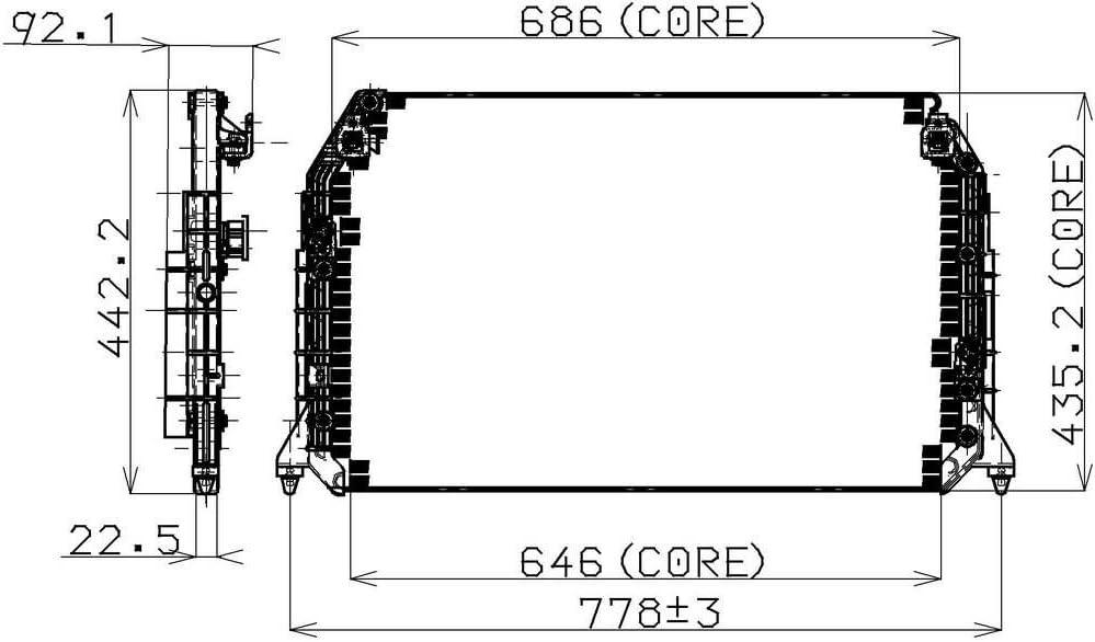 Denso 477-0509 Condenser